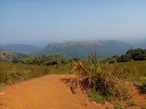 Kodachadri wzgórza staci ind Obraz Royalty Free