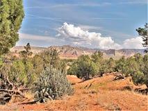Kodachrome国家公园红色岩石  库存图片
