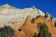 Kodachrome岩石,犹他 免版税库存图片