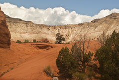 Kodachrome State Park. This is a view of a natural amphitheater in Kodachrome State Park in Southern Utah Stock Photos