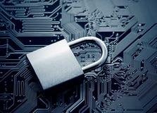 kodad viruset för säkerhet för datorbegreppsprogramet royaltyfri foto