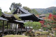Kodai ji寺庙的风景在京都 库存图片