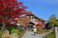 Kodaiji-Tempel stockfotos