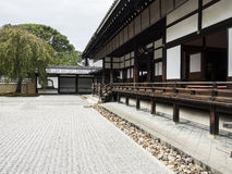 Kodaiji Temple pebble garden Stock Images