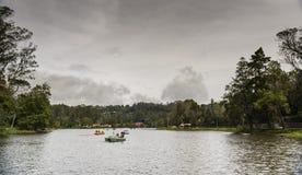 Kodaikanal jezioro Fotografia Stock