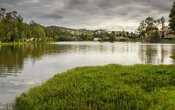Kodaikanal jezioro, tamil nadu Zdjęcia Royalty Free
