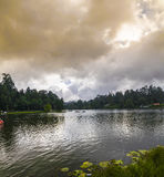 Kodaikanal Lake Panorama (Princess of Hill stations), Tamil Nadu Stock Photos