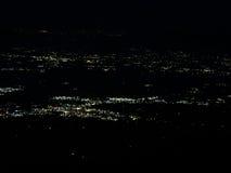Kodaikanal Nightsky and cityscape. Nightsky with cityscape at Kodaikanal in Southern India Royalty Free Stock Photos