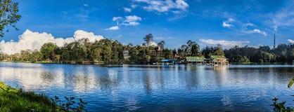 Kodaikanal panoramy Jeziorny Princess wzgórze stacje, tamil nadu Zdjęcia Stock