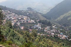 Kodaikanal village view Stock Image