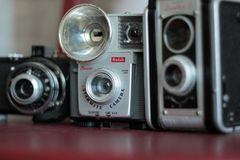 Vintage Cameras Stock Images