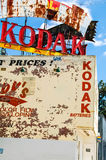Kodak-de bouw stock fotografie