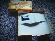 Kodak-dia's stock afbeeldingen