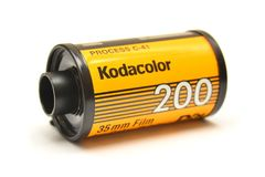 Kodak-Filmstreifen lizenzfreie stockfotos