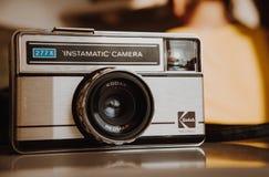 Kodak Instamatic 277X un appareil-photo de film de 126 cartouches Photographie stock libre de droits