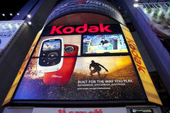 Kodak Sign. Kodak Billboard Sign in Times Square - Circa 2011 stock photo