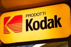 Kodak-Signage lizenzfreies stockbild