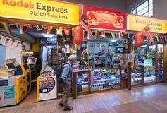 Kodak som är uttrycklig på den centrala marknaden i Kuala Lumpur arkivfoton