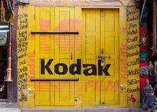 Kodak tecken Arkivbilder
