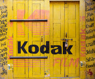 Kodak-teken Royalty-vrije Stock Foto