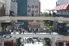 Kodak theater in California. A shot of stores and restaurants in Kodak Theater in los angeles california Stock Photo