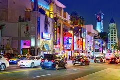 Kodak Theater Dolby where the annual Academy Award is presented. Los Angelos, California, USA - September 06, 2018: Kodak Theater Dolby where the annual Academy royalty free stock image