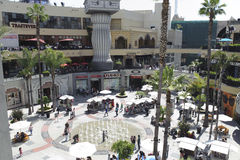 Kodak-Theater in Kalifornien Lizenzfreie Stockfotografie