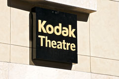 Kodak Theatre. In Hollywood, California Royalty Free Stock Image