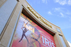 Kodak Theatre. Image of the Kodak Theater on Hollywood Boulevard, at Los Angeles California stock image