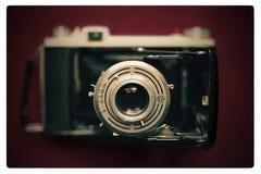 Kodak Vintage Camera. Photo in macro of 45 years old Kodak camera Royalty Free Stock Images