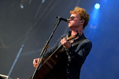 Kodaline (Irish rock band) in concert at FIB Festival Royalty Free Stock Images