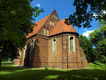 Koden shrine in Poland, the old Church of the Holy Spirit Stock Photos