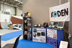 Koden-Stand an Big Blue-Ausstellung 2014 Lizenzfreie Stockfotos