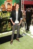 Kodi Smit-McPhee przy 'ParaNorman' Los Angeles premiera. Universal Studio, Ogólnoludzki miasto, CA 08-05-12 Zdjęcie Royalty Free