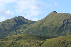 Kodiak Saddle. Saddle of a mountain on Kodiak Island Alaska Stock Photography