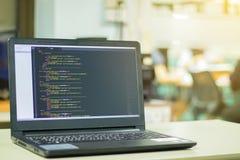 Kodierung des Entwicklers lizenzfreie stockfotografie