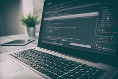 Kodierungscodeprogramm-Berechnungskodierer entwickeln Entwicklerentwicklung