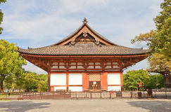 Kodo Lecture Hall (1491 of Toji Temple in Kyoto. UNESCO site. Side view of the Kodo Lecture Hall circa 1491 of Toji Temple in Kyoto. Important Cultural Property Royalty Free Stock Photos
