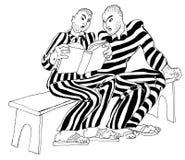 kodu kryminalny więźniów read Obraz Royalty Free