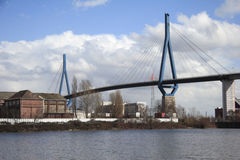 Koehlbrand-Bridge (B) Stock Image
