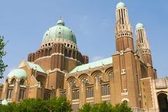 Koekelberg basilica in Brussels Stock Image