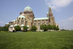Koekelberg basilica in Brussels Stock Photos