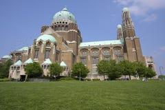 Koekelberg basilica in Brussels Stock Images