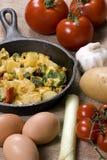 Koekepan 002 van het ontbijt Stock Fotografie