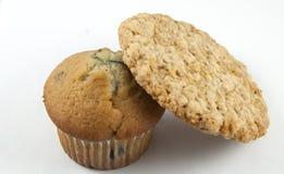 Koekje & Muffin Royalty-vrije Stock Afbeeldingen
