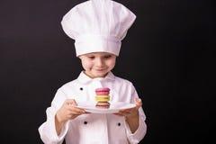 Koekje macaron royalty-vrije stock foto's