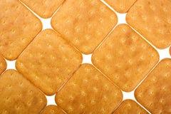 Koekje van de cracker Royalty-vrije Stock Afbeeldingen