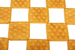 Koekje van de cracker Stock Foto