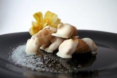 Koekje van de suiker het zoete vanille Stock Afbeeldingen