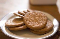 Koekjes of koekjes Royalty-vrije Stock Afbeeldingen